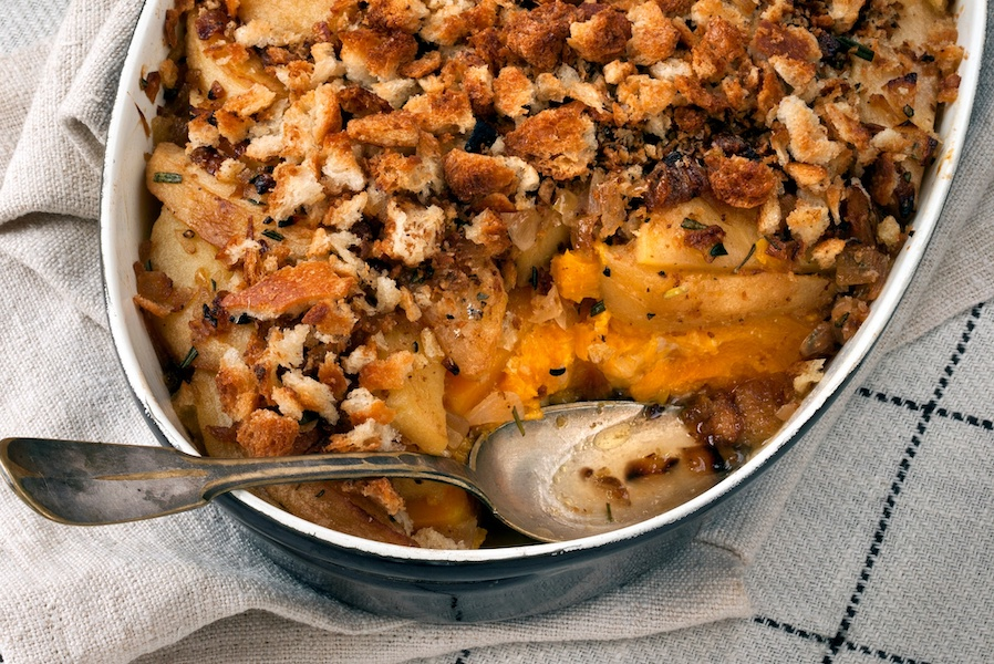 Friendsgiving food idea: Why this Apple Squash Gratin is my favorite, unexpected Thanksgiving side dish