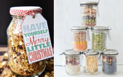 12 mason jar food gifts your kids can help DIY, from sweet to savory. | Holiday Gift Guide