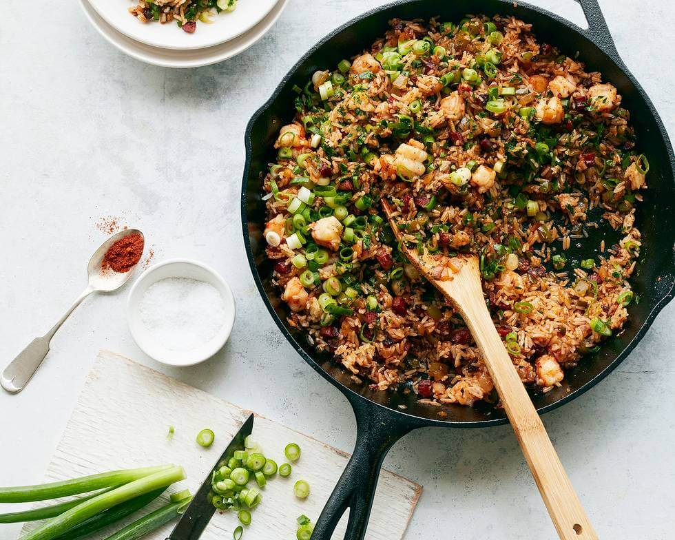 "Chrissy Teigen's Cravings food blog is here, and it's amazing! | New Orleans ""Dirty Fried Rice"""