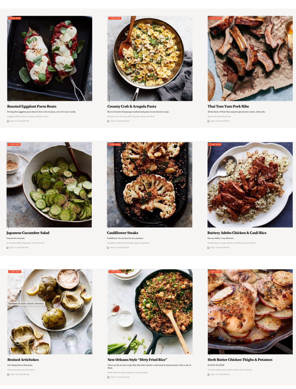 Find fantastic, down-to-earth recipes on the new Cravings by Chrissy Teigen food blog