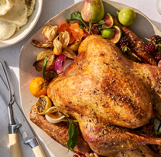 How to pick the right Thanksgiving turkey | image: Whole Foods which has a great selection of organic options