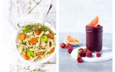 Weekly meal plan: 5 easy cold + flu busting recipes for fall.