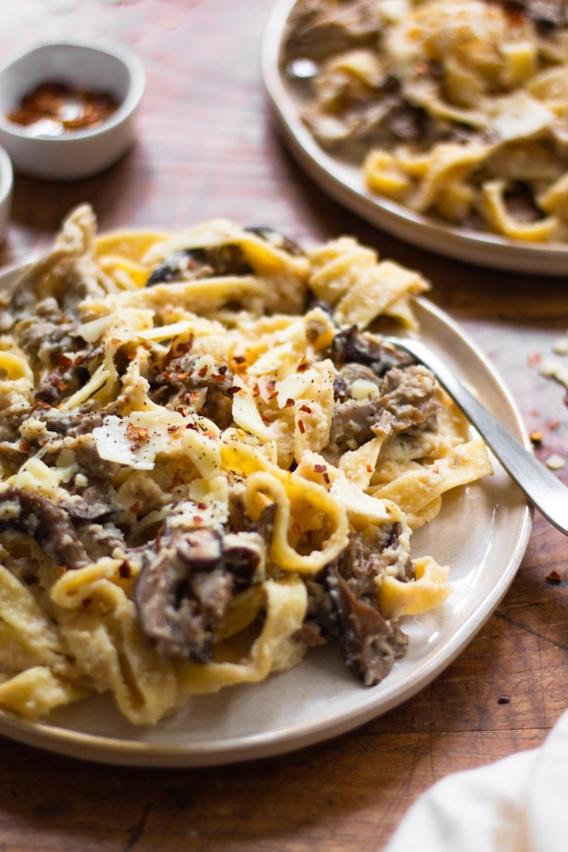 Weekly meal plan: Fettuccini Alfredo at The Banana Diaries