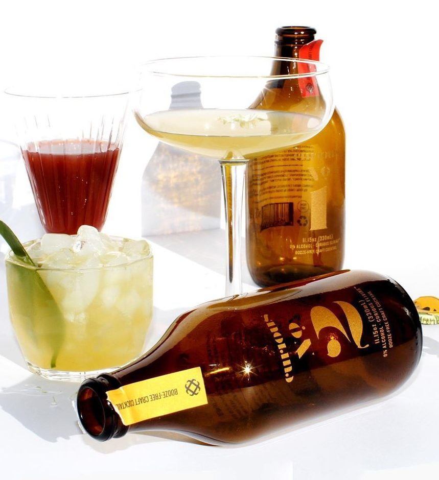 Curious Elixirs no-alcohol cocktails for Dry January