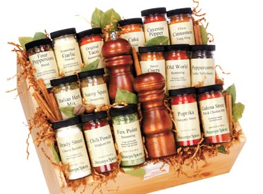 Food gifts that give back | Penzeys spices