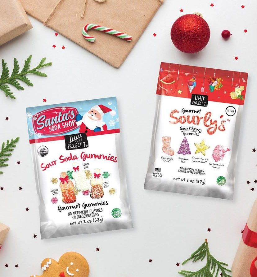 Food gifts that give back | Project 7 gum and gummies