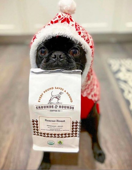 Food gifts that give back | Grounds and Hounds coffee