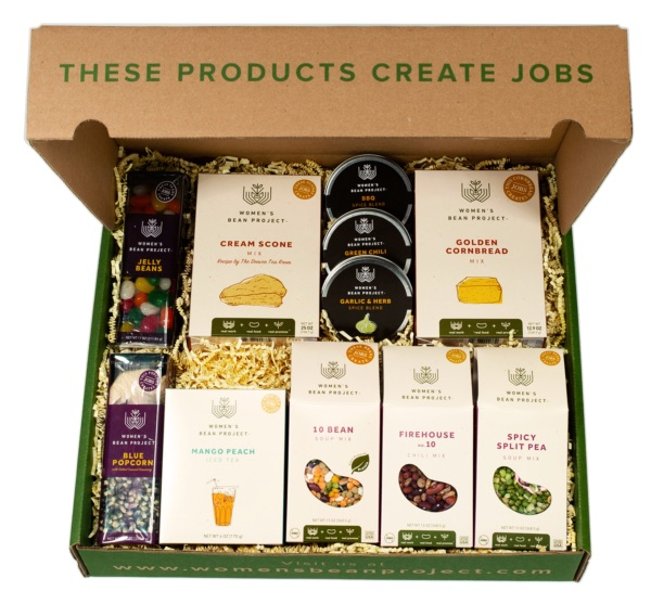 Food gifts that give back | Womens Bean Project