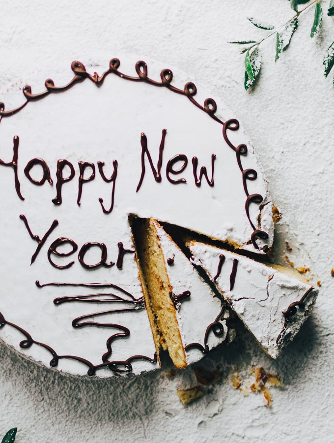 Good-luck foods for new year: Greek cake from Real Greek Recipes
