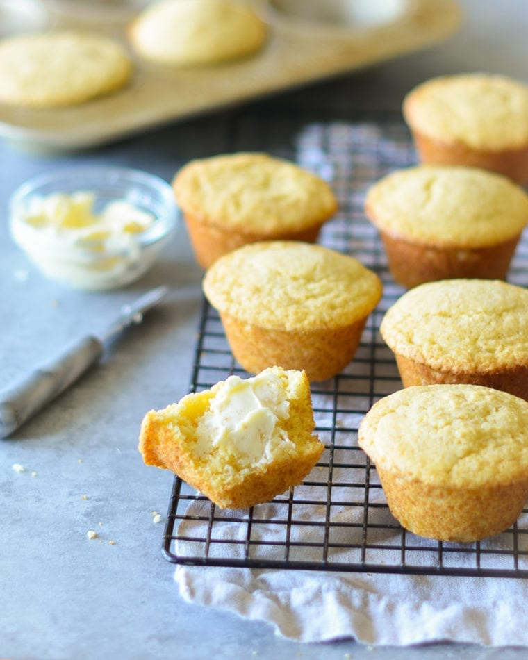 Good-luck foods for new year: Cornbread muffins from Once Upon a Chef