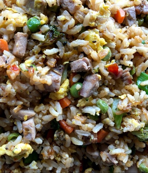 Good luck foods for new year: Pork fried rice from Mashup Mom