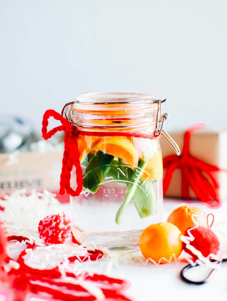 Jalapeno-clementine tequila homemade liqueur gift | The Inspired Home
