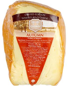 Trader Joe's November picks - Chimay Autumn Cheese