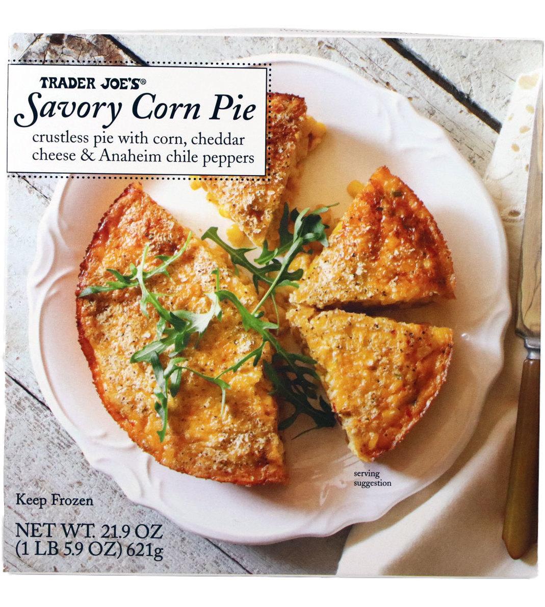 Trader Joe's November picks - Savory Corn Pie