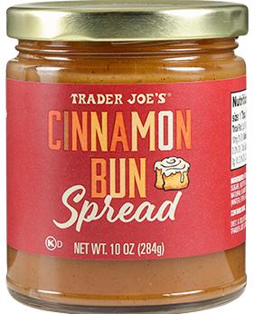 Trader Joe's November picks - Cinnamon Bun Spread
