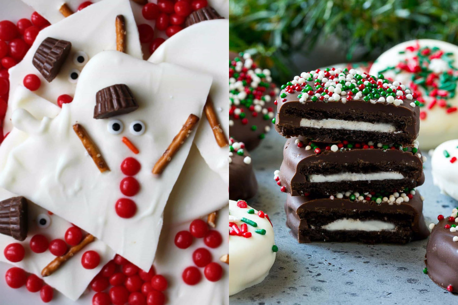7 no-bake holiday cookie ideas that are creative enough for cookie swaps, holiday hostess gifts, or you know, dessert.