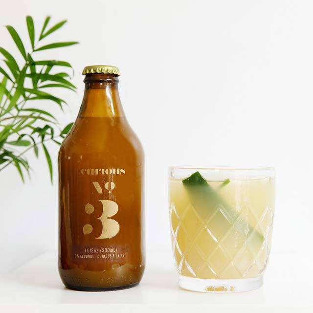 Booze-free cocktail alternatives: Curious Elixir Ready to pour No. 3