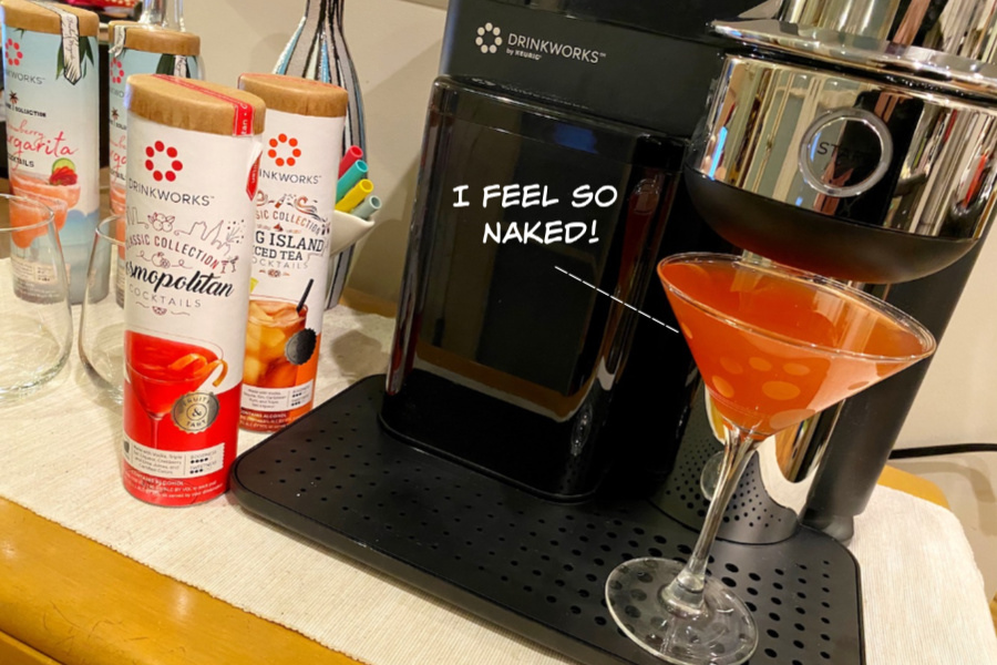 DrinkWorks Home Bar By Keurig makes it so easy to make cocktails, we're showing you how 4 easy garnishes can make your cocktails look pro | cool mom eats (sponsored)
