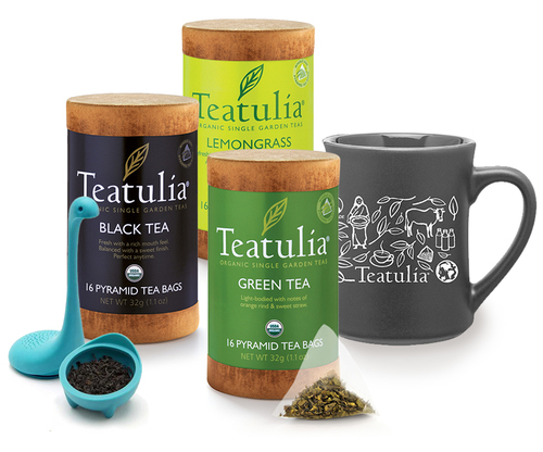 Food gifts that give back | Teatulia teas