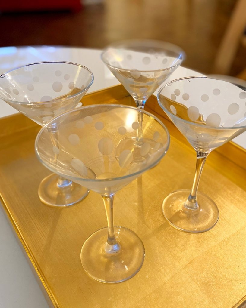 Gorgeous cocktail glasses: How to finally put them to good use for entertaining! | Cool Mom Eats