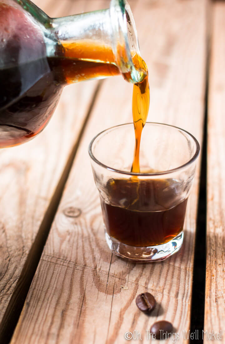 Coffee homemade liqueur gift | Oh the Things We'll Make!