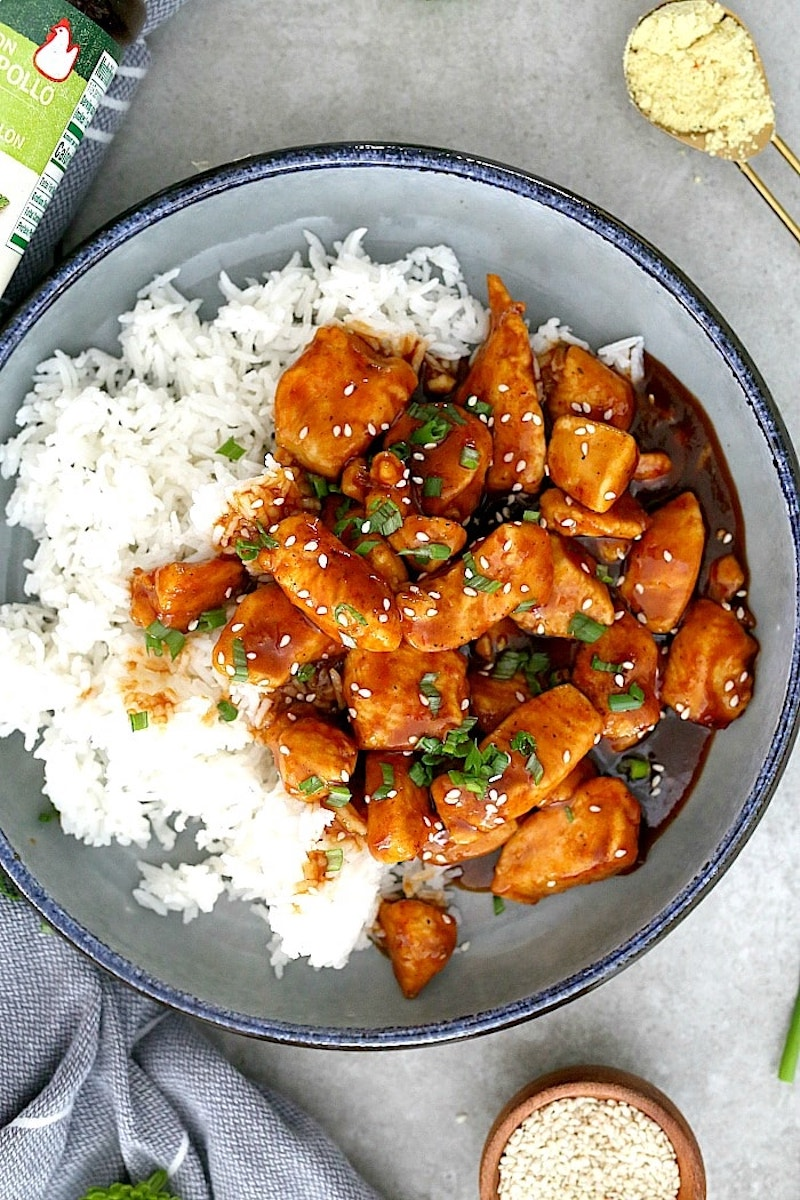 Weekly meal plan: Sweet and Sour Chicken at Delightful Mom Food