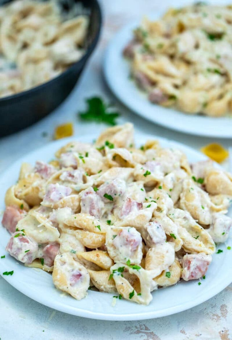 Weekly meal plan: Ham & Cheese Pasta Bake at 30 Minutes Meals
