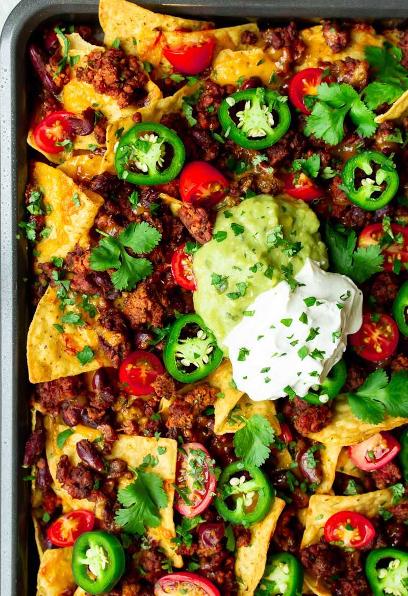Weekly meal plan: Sheet Pan Nachos at Delicious Little Bites