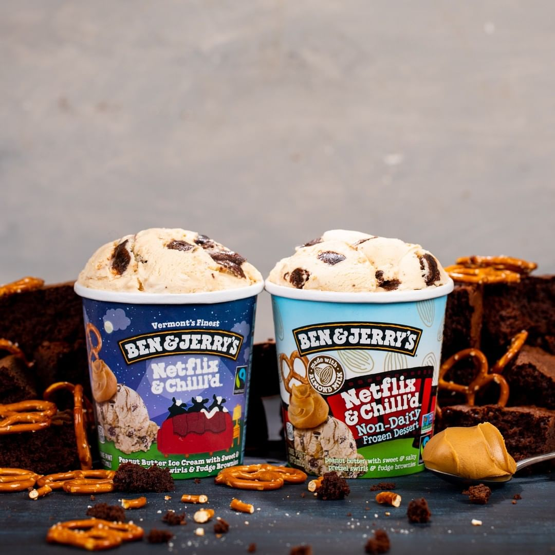 All about Netflix & Chill'd, the new flavor from Ben & Jerry's. There's even a dairy-free/vegan version! | more: coolmomeats.com
