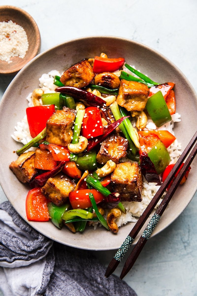Weekly meal plan: Kung Pao Tofu at The Modern Proper