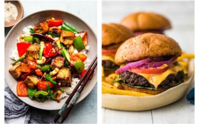 Weekly meal plan: 5 easy meals for the week ahead, including a tasty vegetarian stir fry and tips for the grilling the perfect burger