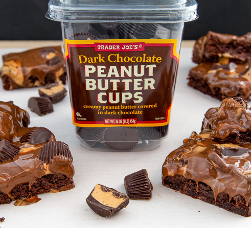 Trader Joe's Customer Choice Winners: Peanut Butter Cup Brownies