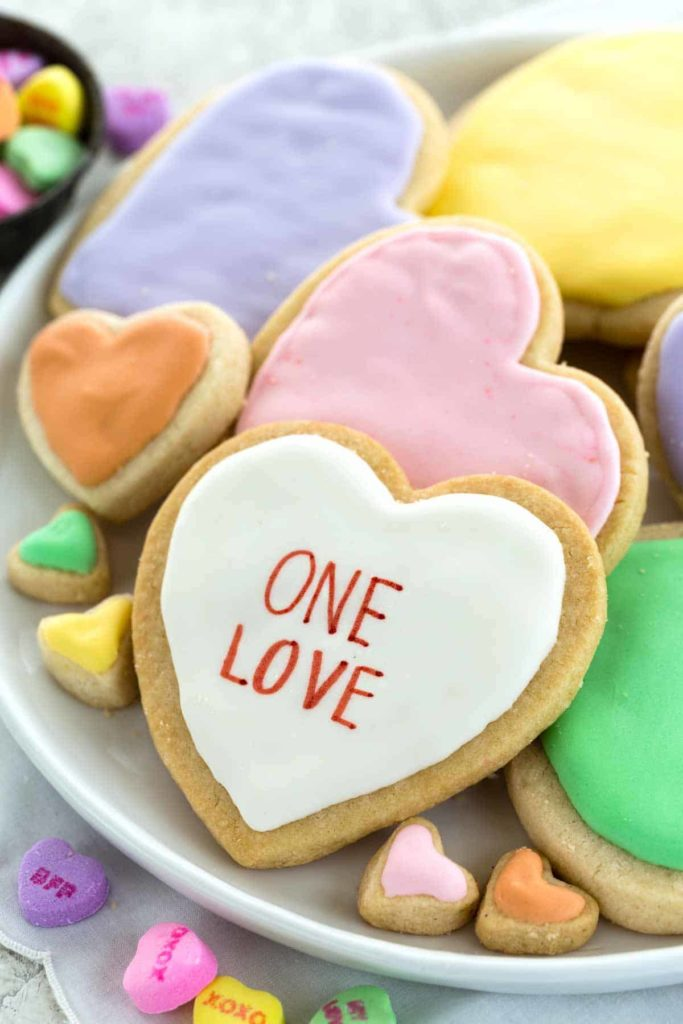 35+ heart shaped ideas for Valentine's Day: Great sugar cookie recipe from Jessica Gavin