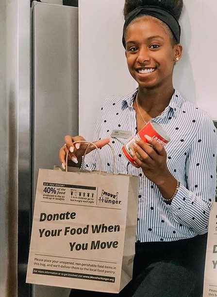 How to donate food when you move, or host a food drive via Move for Hunger