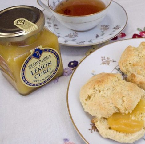 Trader Joe's lemon picks: Scones recipe from Cooking With Trader Joe's