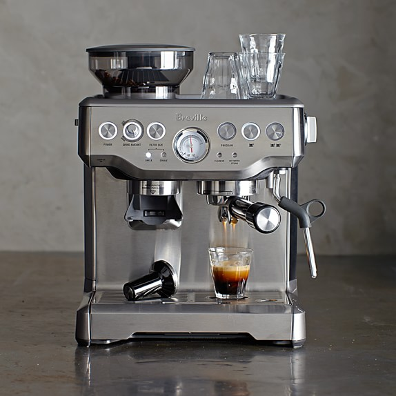 Essential kitchen appliances and gadgets right now: A really good espresso machine like the Breville Barista Express