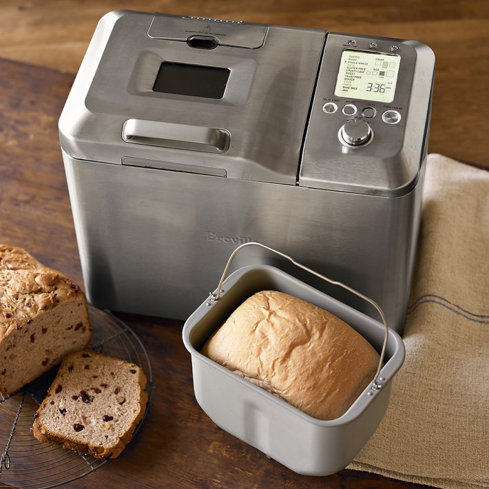 best bread makers at the best prices: The Breville custom loaf bread maker is great for add-ins like nuts and dried fruit