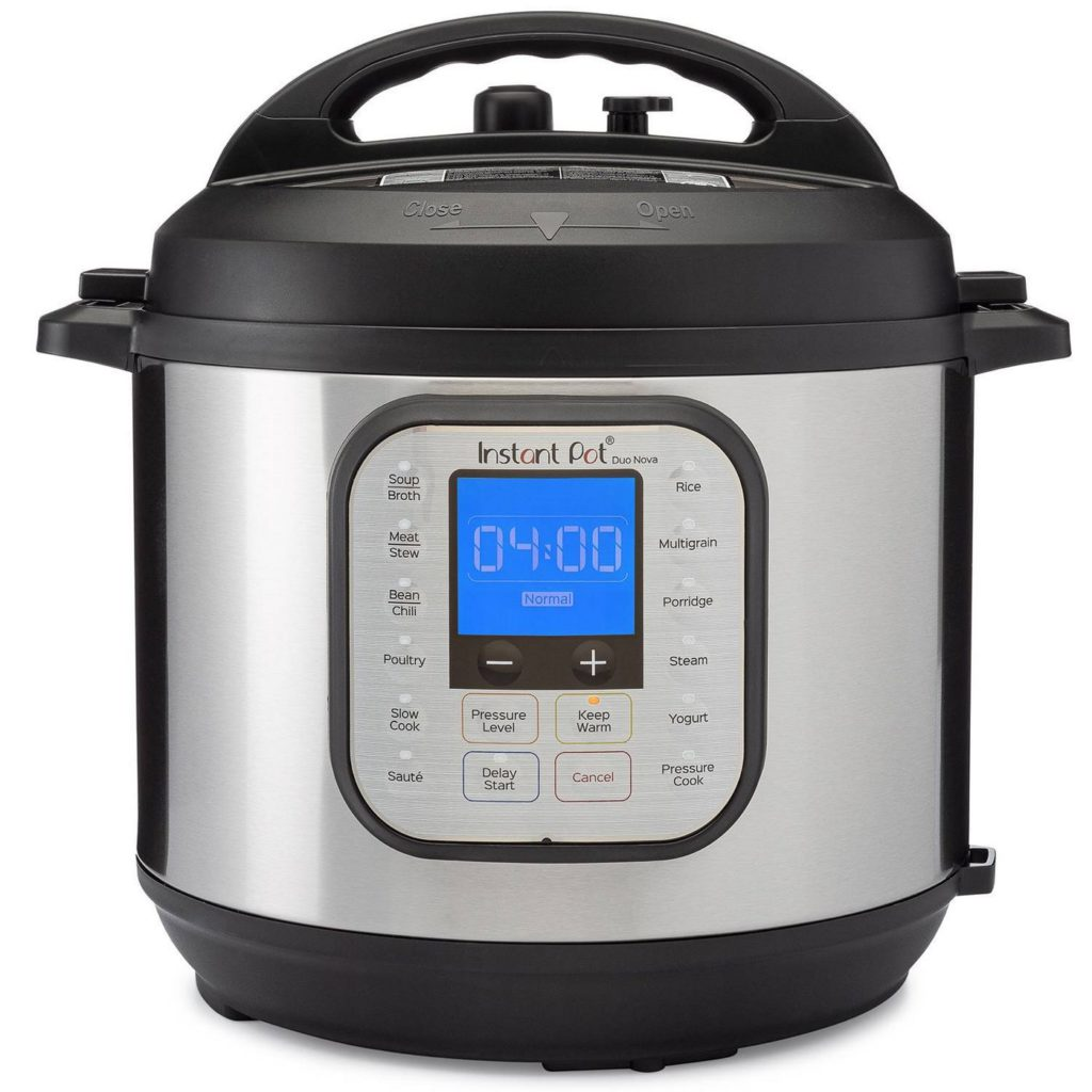 Essential kitchen appliances and gadgets right now: Instant Pot Duo Nova