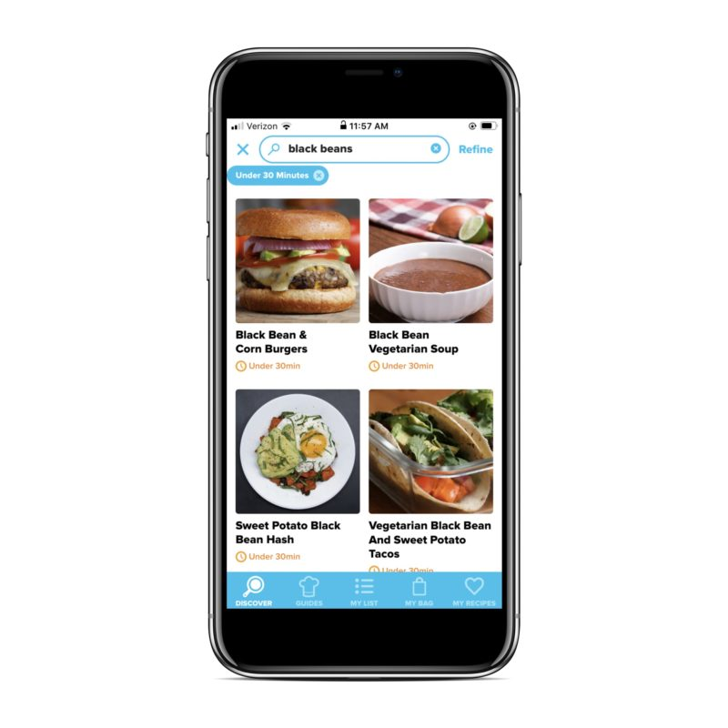 Meal planning tip: Find recipes based on what you have at home with the Tasty recipe app