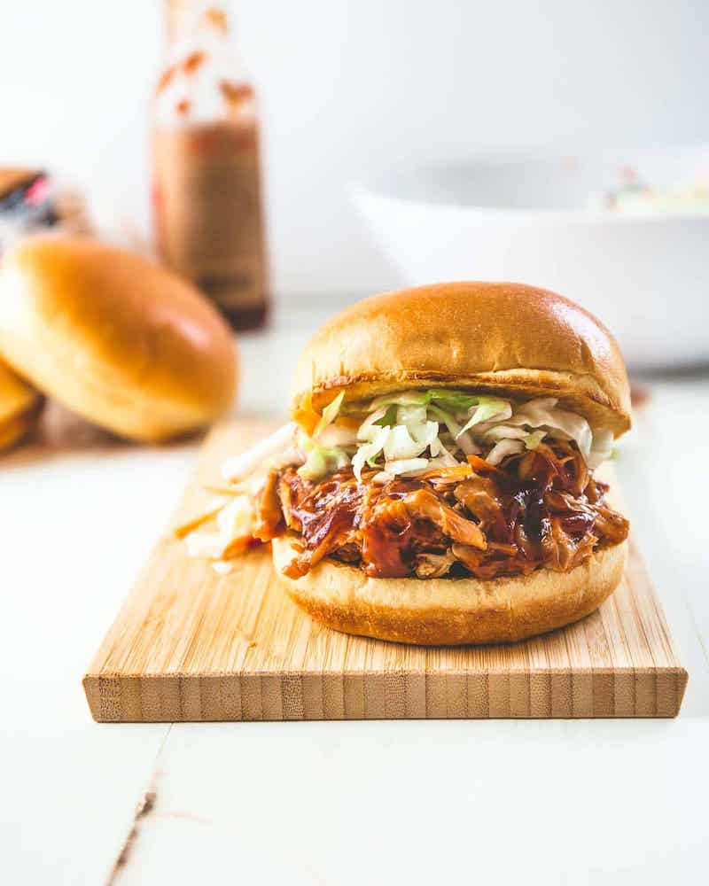 Weekly meal plan: BBQ Chicken Sandwiches at Inquiring Chef