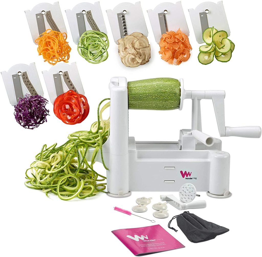 The appliances and kitchen gadgets we're glad to have right now: The WonderVeg spiralizer