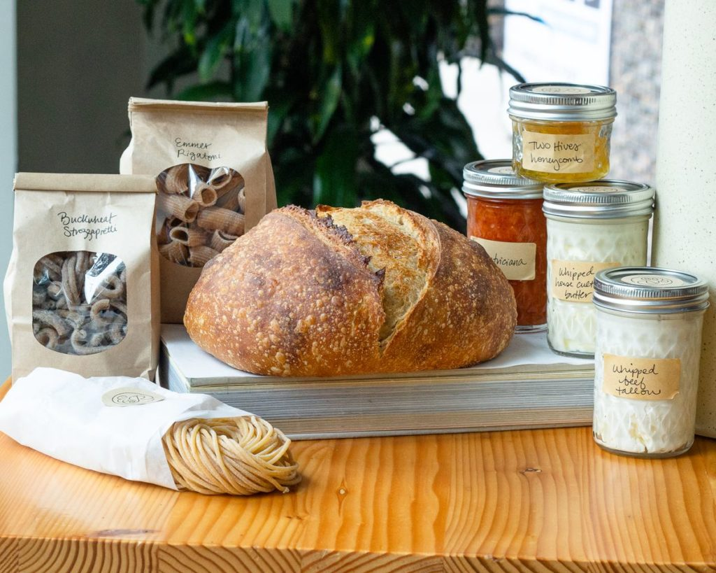 How to support restaurants on Mothers' Day: order a pantry kit like the ones from Emmer and Rye in Austin