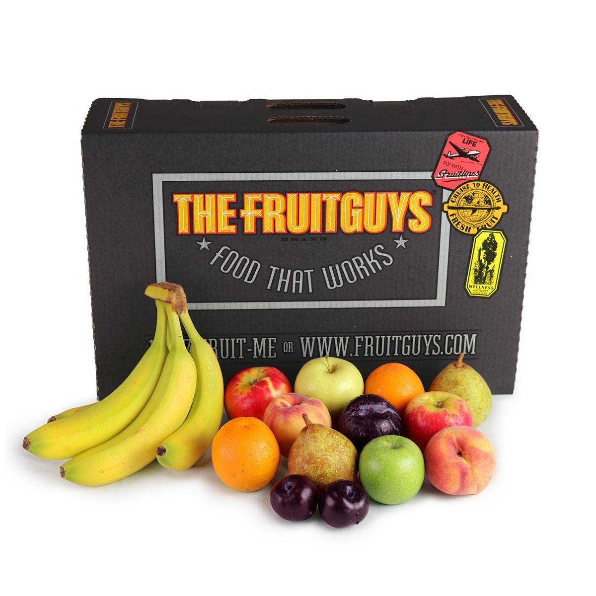 Produce delivery options: The Fruit Guys offers lots of delivery boxes with frequent delivery, in 3 different sizes | cool mom eats