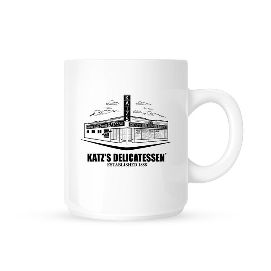Katz's deli mug: merch for Mother's Day supporting restaurants struggling right now