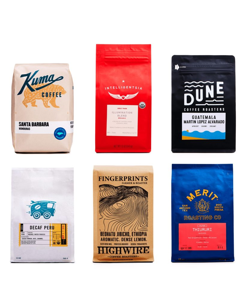 Cool subscription gifts for men: Customized coffee subscription from Trade