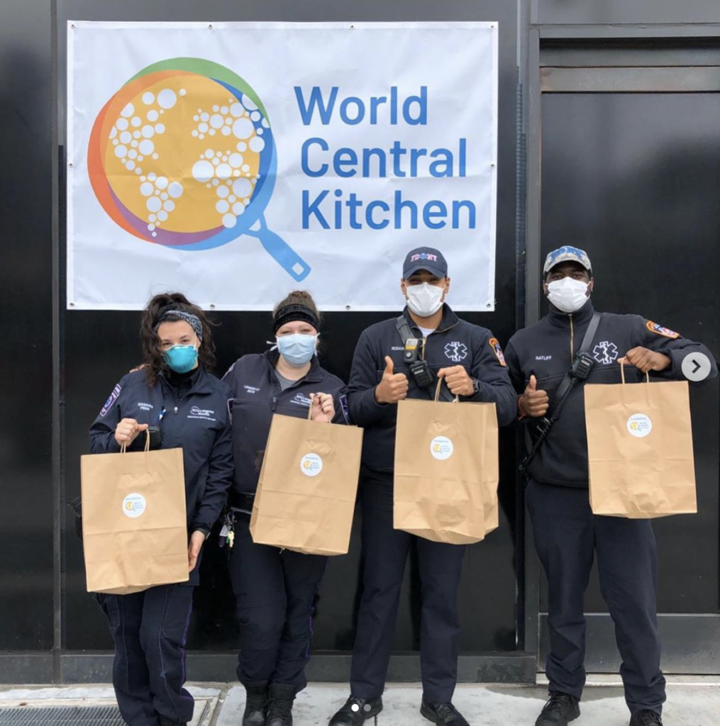 Supporting restaurants and restaurant workers for Mother's Day: make a donation in her name to World Central Kitchen's Chefs for America initiative