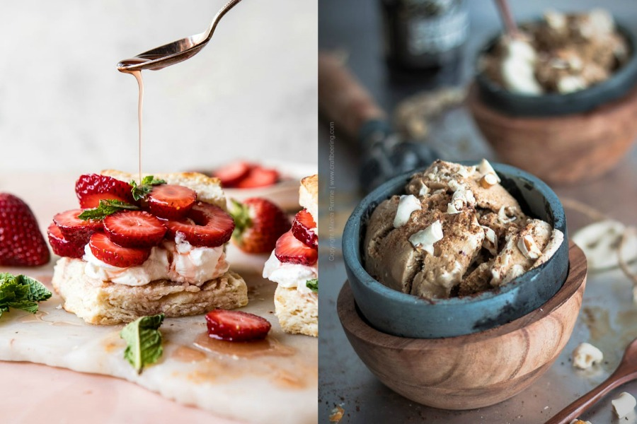 Frozen Margarita Pie! Strawberry Bourbon Shortcake! Indulge in these 12 boozy desserts for Father's Day.