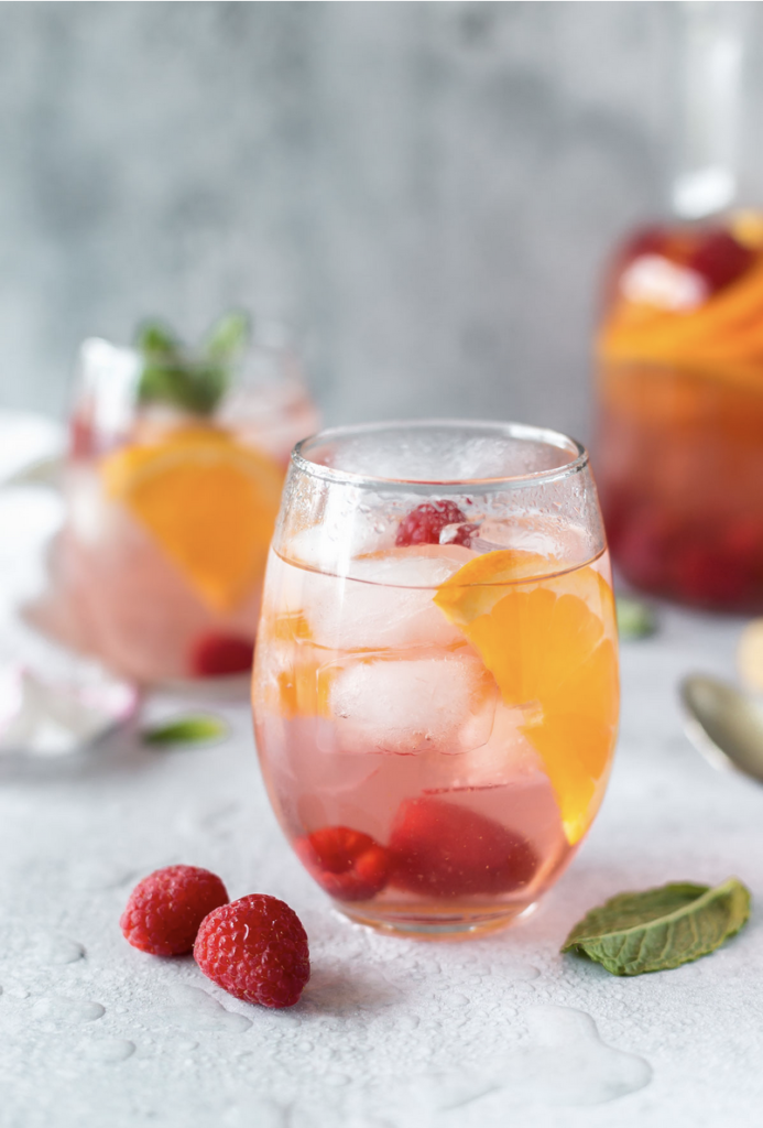 Perfect Rose Sangria from Simply Whisked