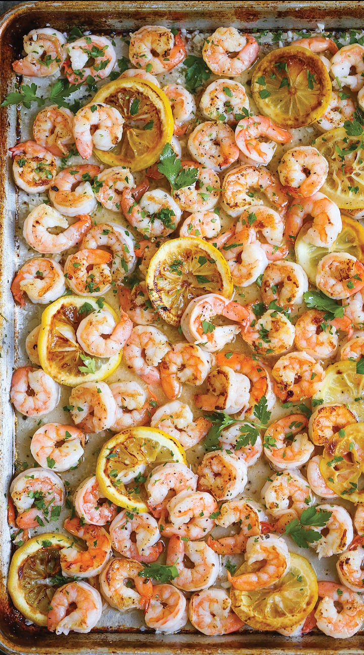 Weekly meal plan: Sheet pan shrimp at Damn Delicious