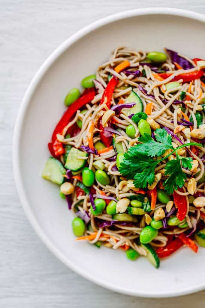 DIY pasta salad recipes: Start an Asian noodle salad with this easy Asian pasta salad dressing at Posh Journal